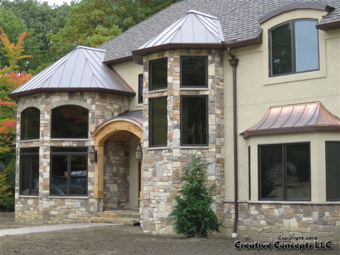 Featured homes creative concepts llc cultured stone for Concept homes llc